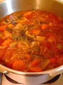 手づくりのダイエットスープ