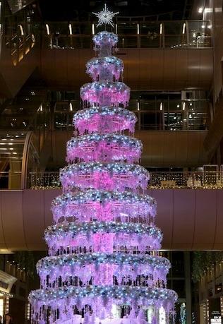 梅田のクリスマスツリー
