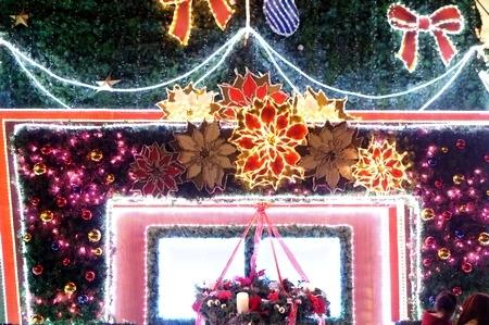 梅田スカイビルの2014年クリスマスイルミネーション2