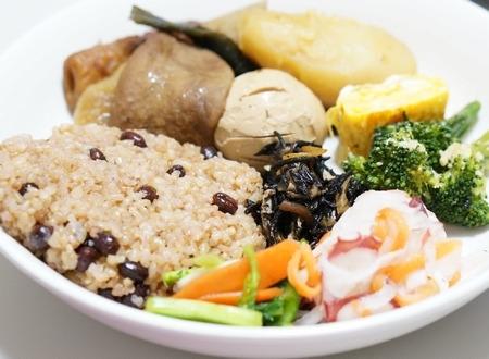 酵素玄米と和食のおかず