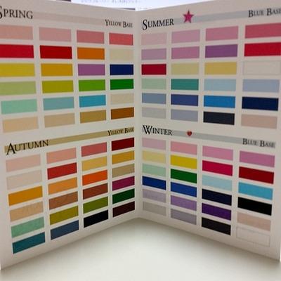 持ち運び用のパーソナルカラーカード