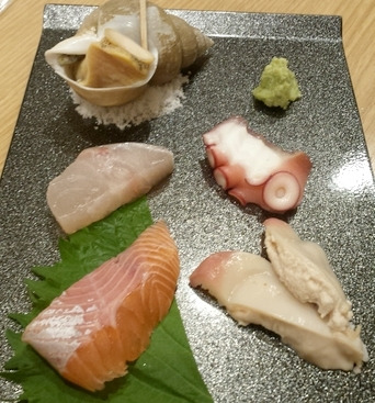 七夕に食べたお寿司
