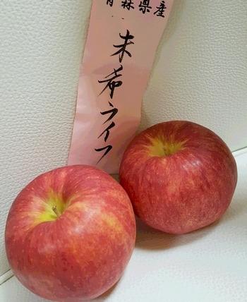 未希ライフというりんご