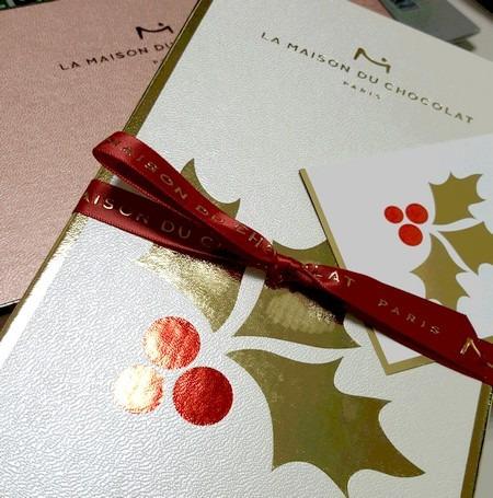 ラメゾンデュショコラのクリスマスチョコレート