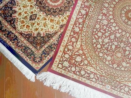 ドバイ土産の絨毯