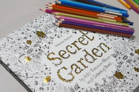 大人の塗り絵SecretGarden