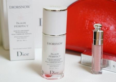 Diorのスノーブルームパーフェクト
