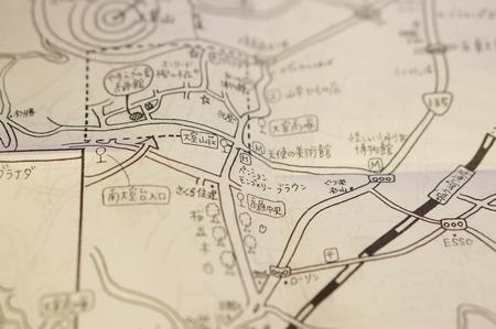 散策の地図