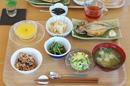 断食の回復食の朝食