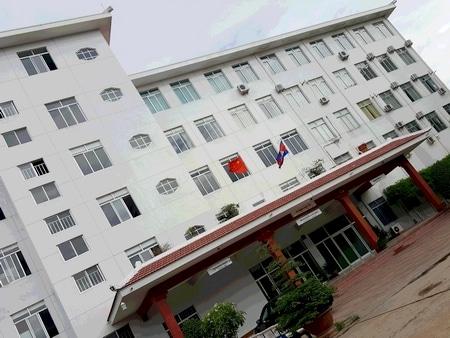 プノンペンにある中国資本の病院