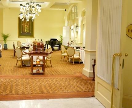 ラッフルズホテルのフレンチレストラン