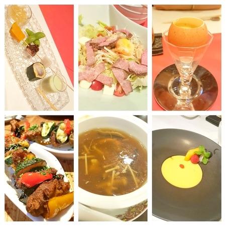 京都の創作懐石料理