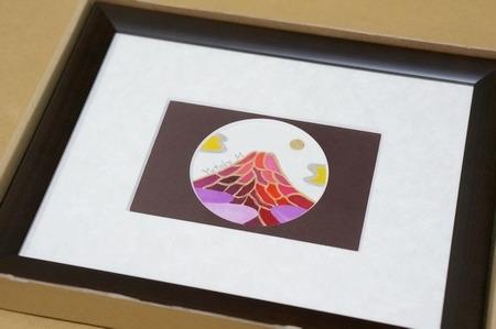 ミニ開運富士山の絵画