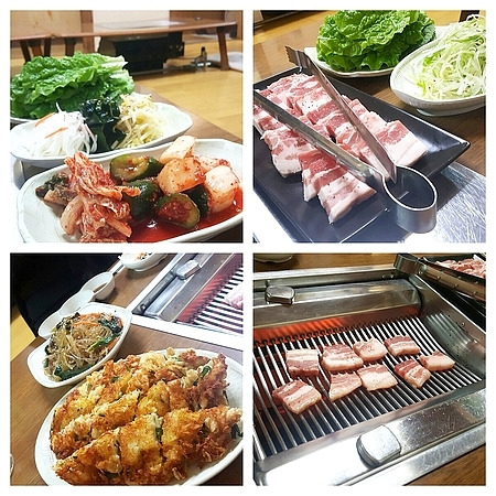 福一で食べた韓国料理