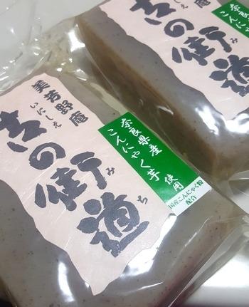 奈良県産こんにゃく芋を使った蒟蒻
