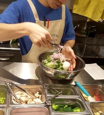 チョップドサラダの作り方1