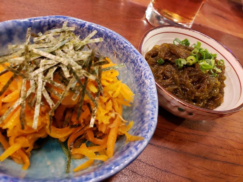 沖縄食堂ハイサイのシリシリともずく