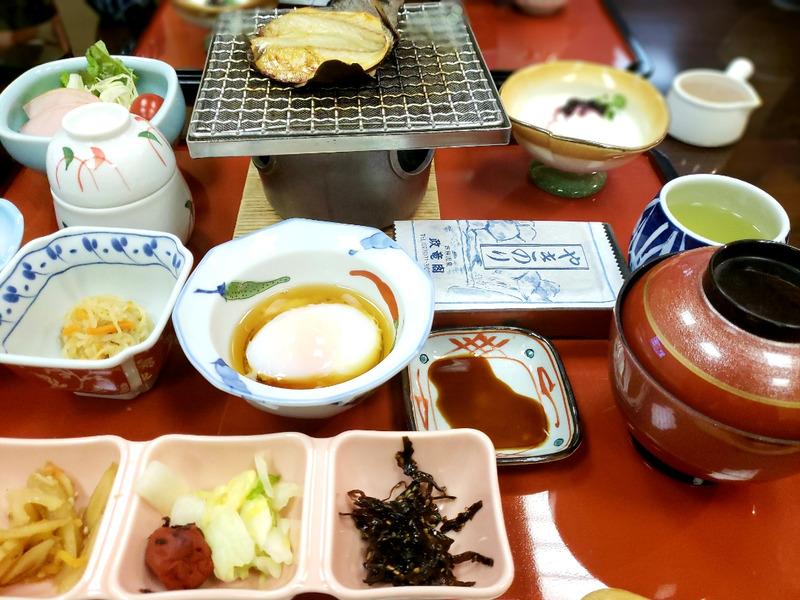 福井県あわら温泉の朝食