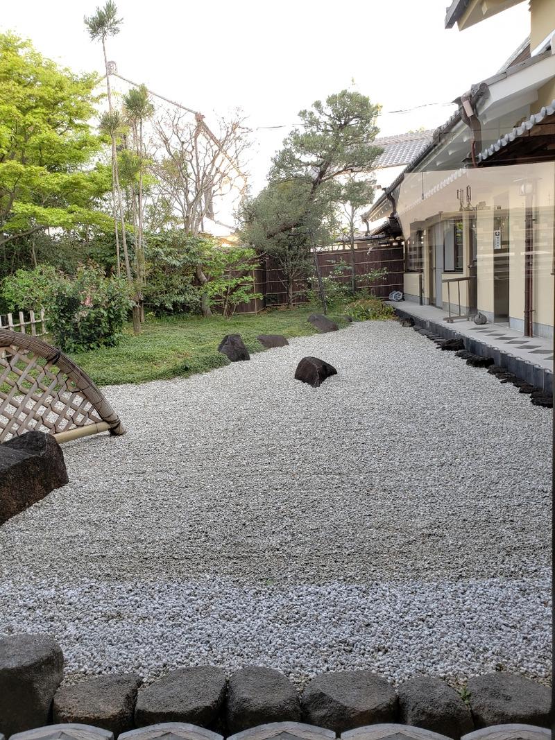 白玉屋榮壽の中庭