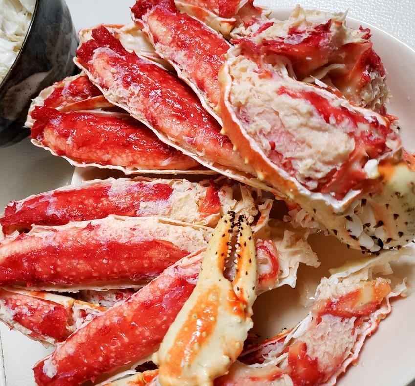コストコのタラバ蟹を解凍
