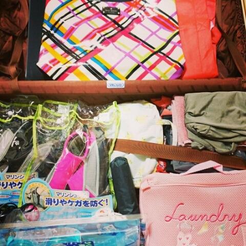 沖縄旅行の準備