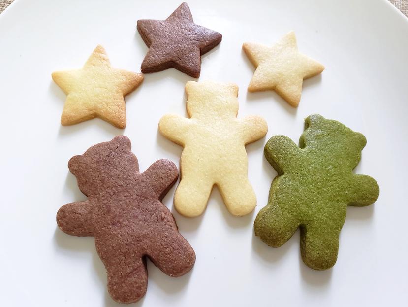 星とクマのクッキー