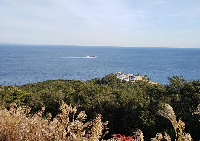海を望む御宿TheEarthの外観