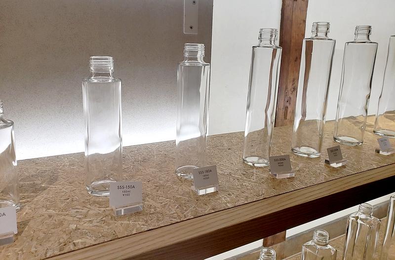 日本精工硝子のビン