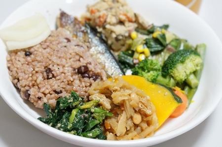 酵素玄米の和食ご飯