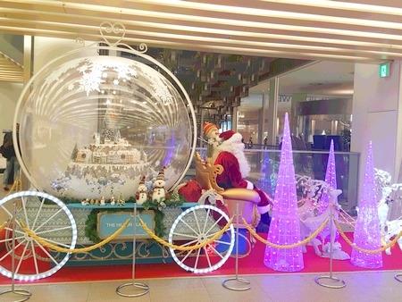 2016年冬の大阪のクリスマスイルミネーション1