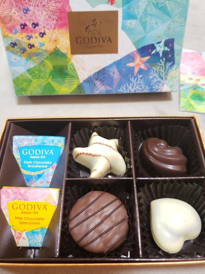 GODIVAの夏季限定チョコ