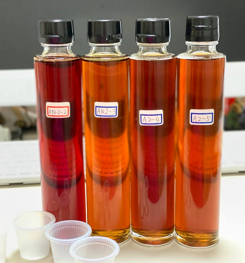 Micoas飲むお酢の試作品